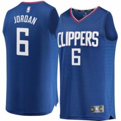Fanatics Branded ファナティクス ブランド スポーツ用品  Fanatics Branded DeAndre Jordan LA Clippers Blue Fast Br
