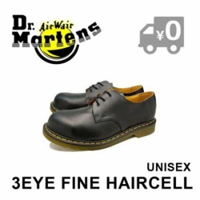 ドクターマーチン 3ホール シューズ スチールトゥ ブラック レザー レディース メンズ Dr.Martens 1925