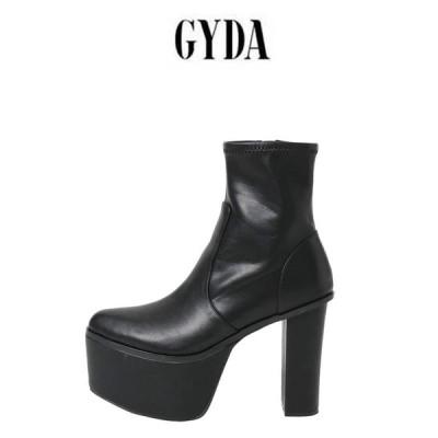 GYDA ジェイダ 通販 Basicバルキーショートブーツ  072111841201 レディース 20201春 靴 シューズ 厚底