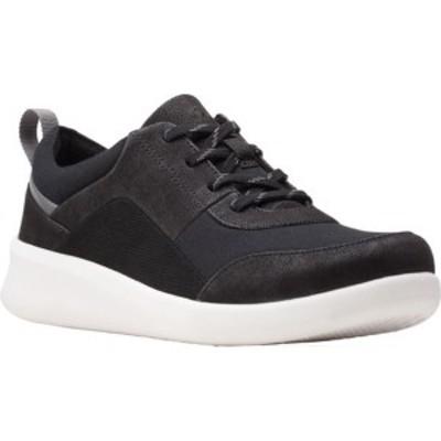 クラークス レディース スニーカー シューズ Sillian 2.0 Kae Sneaker Black Textile
