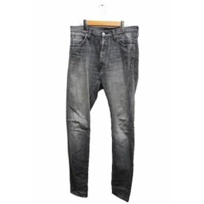 【中古】ジェラード JELADO BASIC COLLECTION Classic Slim Pants デニム パンツ ジーンズ 黒 ● 201018 0035 メンズ