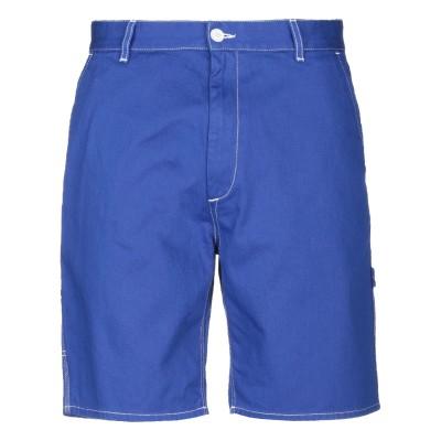 HAIKURE バミューダパンツ ブルー 31 コットン 100% バミューダパンツ