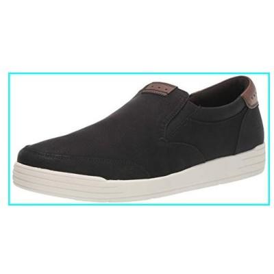 Nunn Bush Men KORE City Walk Moccasin Toe Sneaker Style Slip On Loafer Shoe, Black, 10 W US