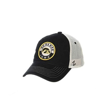 NCAA Iowa Hawkeyes Mens Lancaster Relaxed Hat Primary team color/White Ad
