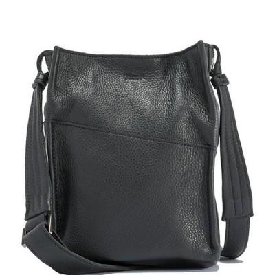 ハミット レディース ショルダーバッグ バッグ Davis Pebble Leather Small Bucket Bag
