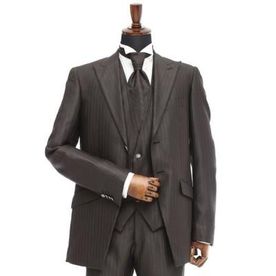 レンタル タキシード 送料無料 TX-027 ブラウン 結婚式  パーティ 二次会  貸衣装 新郎 ブライダル ウエディング タキシードレンタル