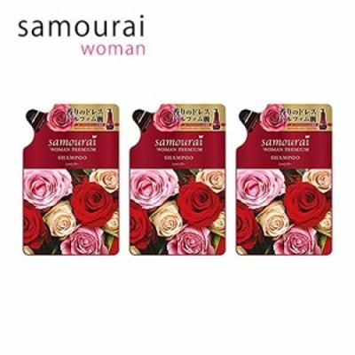 詰替え用・3個セット サムライウーマン samourai woman プレミアム シャンプー 370ml