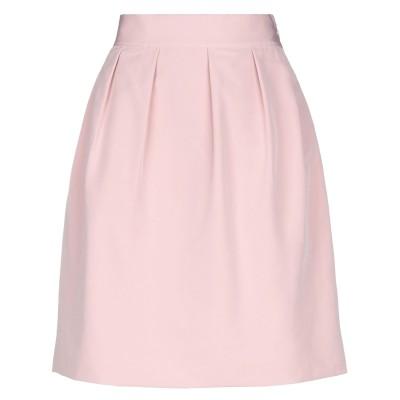 EDWARD ACHOUR ひざ丈スカート ピンク 40 ポリエステル 100% ひざ丈スカート