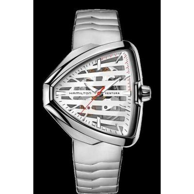 ハミルトン 腕時計 New Hamilton Ventura ELVIS80 Skeleton Auto Stainless Steel メンズ Watch H24555181