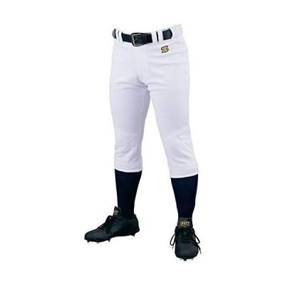 ゼット(ZETT) 少年野球 ユニフォーム メカパン ジュニアパンツ ホワイト(1100) 130 BU2282P