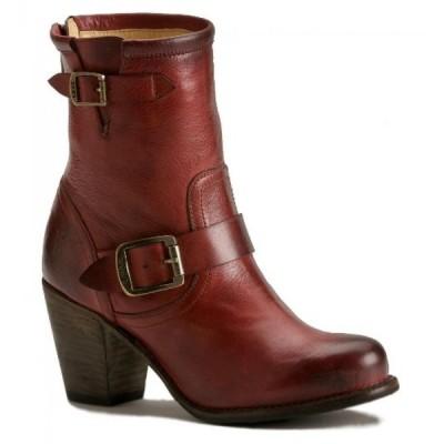 フライ レディース ブーツ FRYE Women's Karla Engineer Short Boot