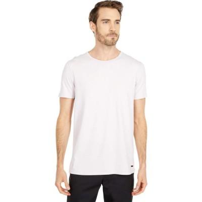 ヒューゴ ボス BOSS Hugo Boss メンズ Tシャツ トップス Tokks T-Shirt with Sun-Bleached Effect Dark Pink