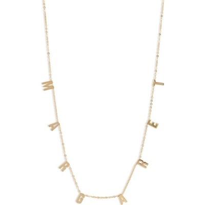 アルジェントヴィーヴォ ARGENTO VIVO STERLING SILVER レディース ネックレス チャーム Argento Vivo Personalized Dangle Charm Necklace Gold