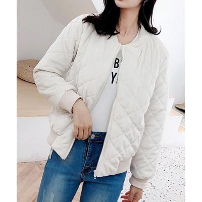【ショッピングゴー】 レディース ジャケット ノーカラー アウター 長袖 かわいい スプリングコート レディース ベージュ フリー shoppinggo