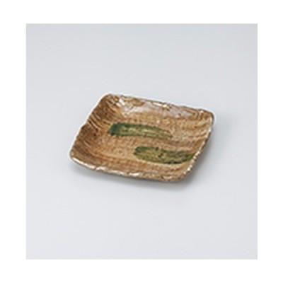 和皿 和食器 / 黄瀬戸四角とり皿 寸法:15.5 x 15.5 x 2cm