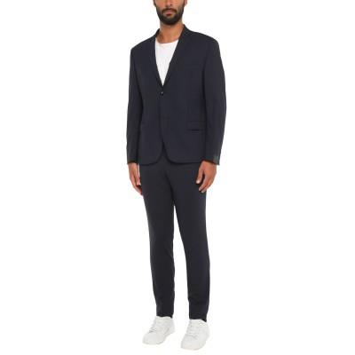 アレッサンドロデラクア ALESSANDRO DELL'ACQUA スーツ ダークブルー 56 バージンウール 96% / ポリウレタン 4% スーツ