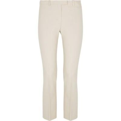 マックスマーラ 'S Max Mara レディース クロップド ボトムス・パンツ Umanita stone cotton-blend trousers White