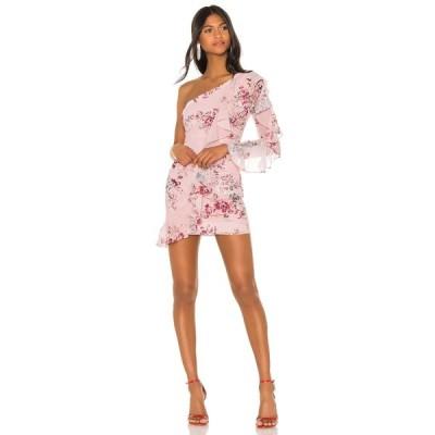 マイケル コステロ Michael Costello レディース ワンピース ワンピース・ドレス x REVOLVE Carter Dress Pink Floral