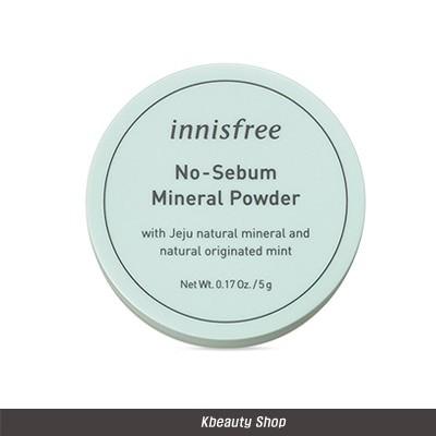 ノーセバム ミネラルパウダー 5g / Innisfree No Sebum Mineral Powder