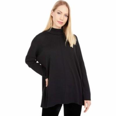 リラピー Lilla P レディース ニット・セーター トップス Oversized Turtleneck Sweater Black