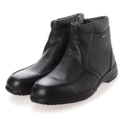 【GORE-TEX】マドラスウォーク madras Walk  防水 防滑 4E 幅広カジュアルブーツ SPMW5476 (ブラック)