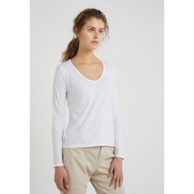 ドライコーン カットソー レディース トップス ALESA - Long sleeved top - white