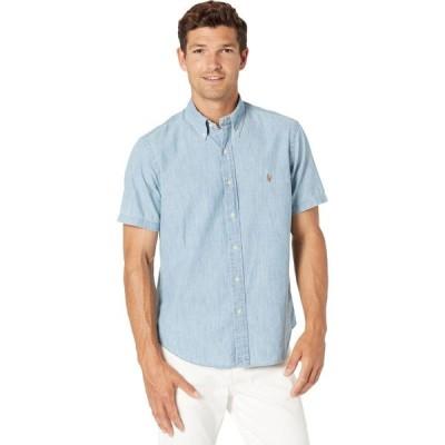 ラルフ ローレン Polo Ralph Lauren メンズ シャツ シャンブレーシャツ トップス Classic Fit Chambray Shirt Light Indigo