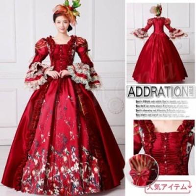 【髪飾りをプレゼント♪】【6サイズ展開・S/M/L/XL/2XL/3XL】ロングドレス お姫様カラードレス ステージ衣装 種類が
