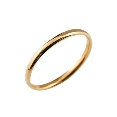 リング ゴールド ピンキーリング 指輪 ピンクゴールドk18地金リング リーガルタイプ 宝石なし 18金 レディース ストレート 送料無料