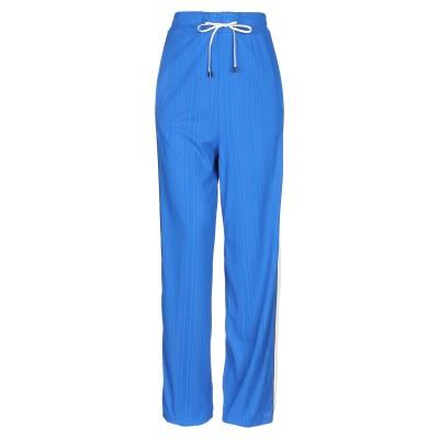 SUOLI パンツ ブルー 38 レーヨン 81% / ナイロン 16% / ポリウレタン 3% パンツ