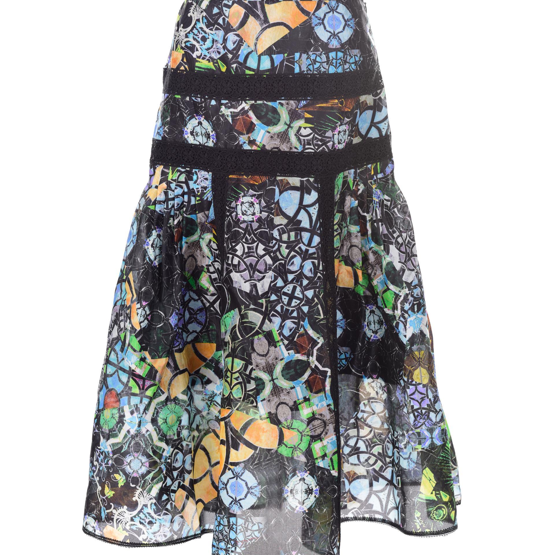 SHIATZY CHEN 霓裳印象系列印花中長裙