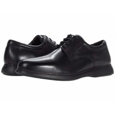 Geox ジオックス メンズ 男性用 シューズ 靴 オックスフォード 紳士靴 通勤靴 Capace 2Fit ABX 2 Black【送料無料】