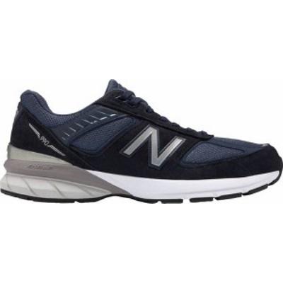 ニューバランス メンズ スニーカー シューズ New Balance Men's M990V5 Shoes Navy/Silver