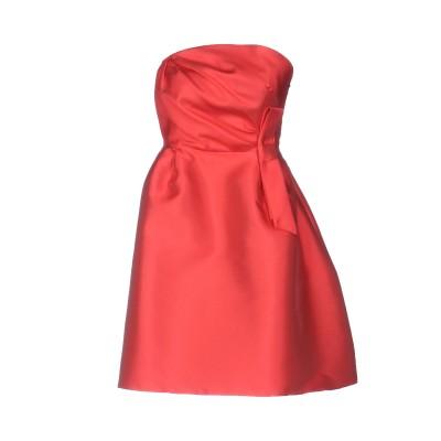 KITAGI® ミニワンピース&ドレス レッド 40 85% ポリエステル 15% シルク ミニワンピース&ドレス