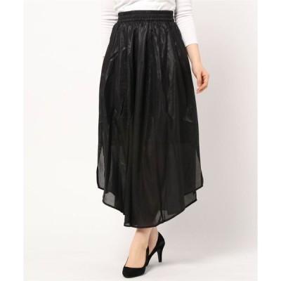 スカート シャイニーボリュームスカート *