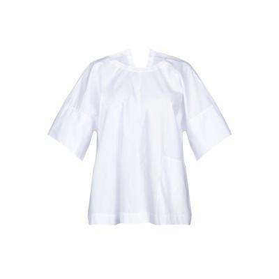 ソフィー・ドール SOFIE D'HOORE ブラウス ホワイト 38 コットン 100% ブラウス