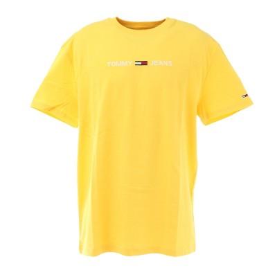 トミー ジーンズウェア半袖Tシャツ DM0DM08472 YELイエロー