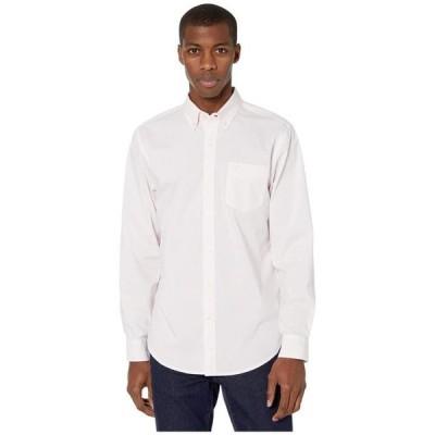 ドッカーズ メンズ シャツ トップス Long Sleeve Stretch Woven Shirt