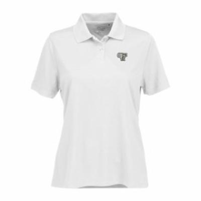 Vantage Apparel バンテージ アパレル スポーツ用品  Fordham Rams Womens White Vansport Omega Plus Size Tech Polo