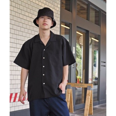 シャツ ブラウス 【MANGROVE】リラックスオープンカラーシャツ