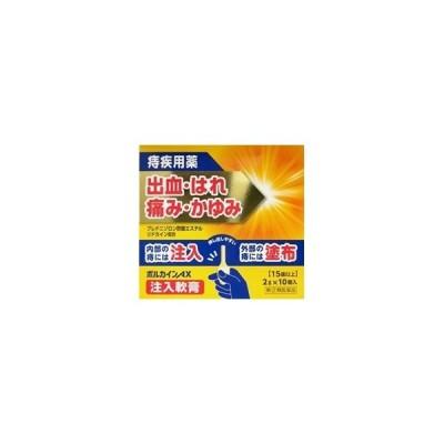「中外医薬生産」 ボルカインAX 注入軟膏 2g×10個 「第(2)類医薬品」