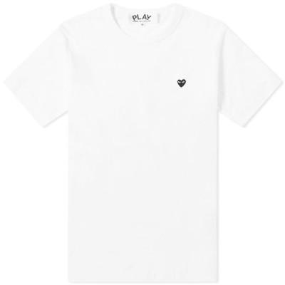 コム デ ギャルソン Comme des Garcons Play メンズ Tシャツ トップス Little Black Heart Tee White
