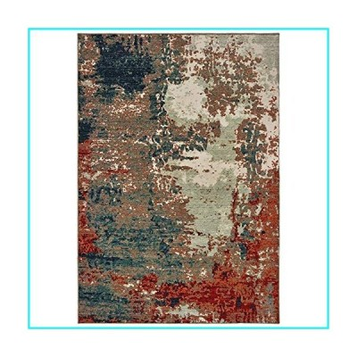 """Sphinx Montage Area Rug 092LE Blue Faded Vintage 9' 10"""" x 12' 10"""" Rectangle"""