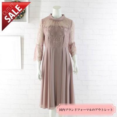 54%OFF 結婚式 二次会 ドレス レース |レースドッキングワンピース9号(ピンク)