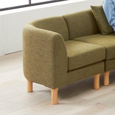 家具 収納 ソファー コーナーソファー コーナーカウチソファ HORA/ホーラ ソファシリーズ コーナー 幅70cm H86105