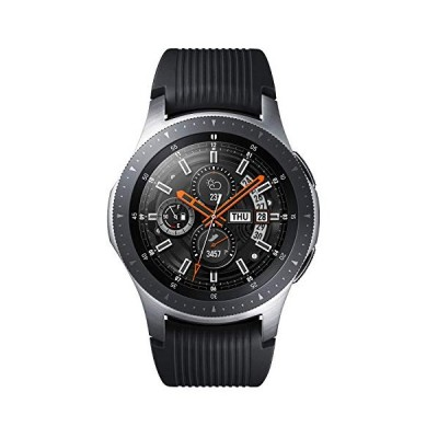 Galaxy Watch 46mm シルバーGalaxy純正 国内正規品 Samsung スマートウォッチ iOS/Android対応 SM