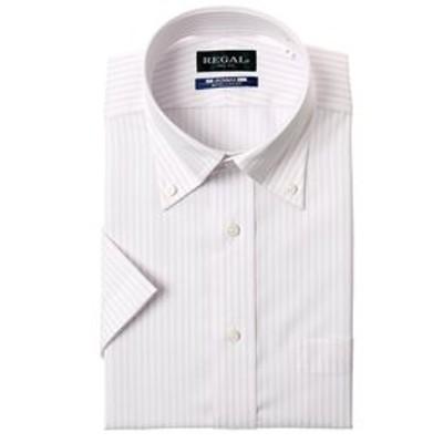 【半袖】【NON IRONMAX】【ボタンダウン】スタンダードワイシャツ