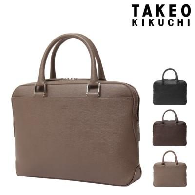 タケオキクチ ビジネスバッグ ギブソン メンズ 701511 TAKEO KIKUCHI ブリーフケース 本革 レザー 撥水 日本製