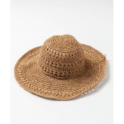 WEGO / WEGO/ナチュラルつば広ハット WOMEN 帽子 > ハット