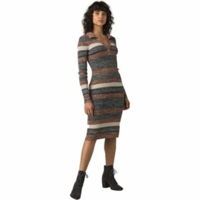プラーナ Prana レディース ワンピース ワンピース・ドレス Acadia Dress Magnet Grey